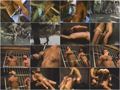 Gay BDSM Ranch Slave Trainee and Duo Bondage Bonus