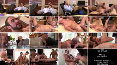 Mature Men In Hard Gangbang