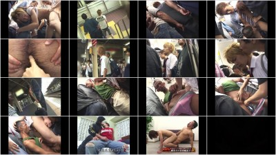 Crazy Guys on the Express Trains 2 - HD, Hardcore, Blowjob, Cumshots