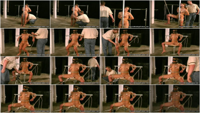 Devicebondagevideos - Jul 02, 2011 - Nipple Clamps to Neck Bar