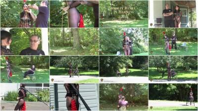 Houseofgord - Ashley Renee in Harness HD 2015