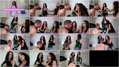 Femdom and Strapon Face Slapping Turns Us On. Starring Goddess Harley and Princess Carmela