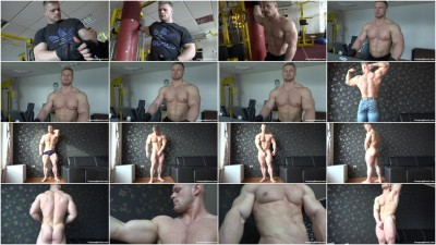 Pumpingmuscle — Gary E photoshoot Scene 2