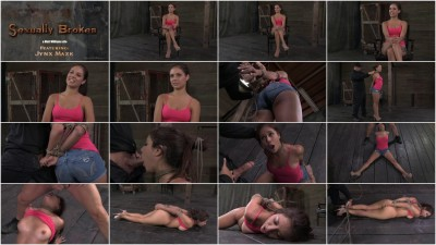 Hot Latina Jynx Maze Suffers Rope Bondage Is Deep Throated And Roughly Sex Hogtied