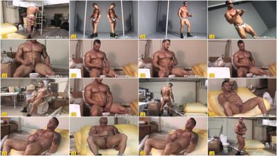 Powermen - Diego El Potro 4 homo blonde men hair...