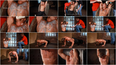 Gay BDSM RusCapturedBoys - Sergey - Slave Training - Final