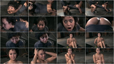 Mia Austin utterly destroyed by dick and strict bondage, brutal epic deepthroat and rough fucking!