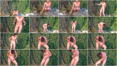 Peeped at the beach 22 - Voyeur, Nudism HD