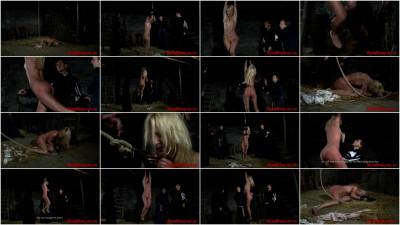 Witch Romina Endures Rope Suspension Part 2 - BrutalDungeon