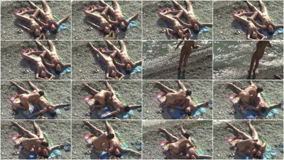 Peeped at the beach 18 - Voyeur, Nudism HD