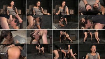 SexuallyBroken Kalina Ryus first bondage shoot