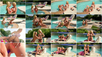 Kyra Hot, Chessie Kay — Two Busty Lesbians At The Pool (2016)