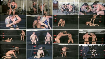 Muscle Domination Wrestling — S13E03 - Oil Hunks 4 - Mutant vs Specimen