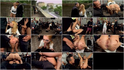bdsm Busty Blonde Isabella Clark Public Double Penetration - Part 2