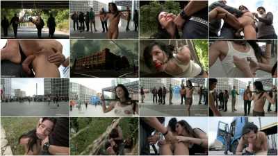 Best Of Europe: Super Hot Euro Babe Disgraced in the Streets
