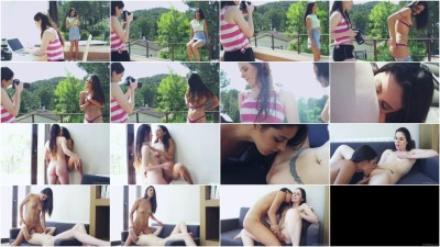 Amber Nevada, Carolina Abril — Learning Curve Episode 3 - First Time Posing Nude FullHD 1080p