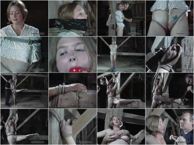 Milky skin, blond and blue-eyed, Stars been a bondage model for years