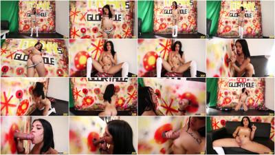 Lanita Hot Lanita's DoubleDick Gloryhole Fantasy (2016)