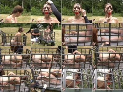 [NakedGord.com]Charlotte Pichard Caged Part 1(2010/Charlotte Brooke/Metal Bondage/size 104.1 MB)
