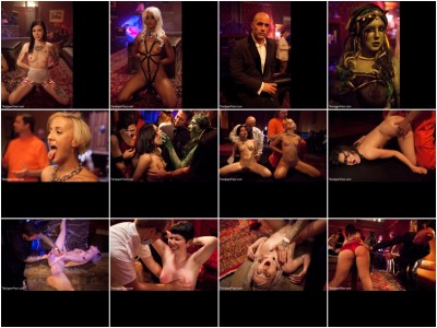 Kink: The Upper Floor - Juliette March, Skin Diamond, Dylan, Krysta Kaos, Lilla Katt, Derrick Pierce, Maestro Stefanos, Jack Hammer - Halloween: Part One