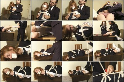 bdsm Bound and Gagged - Roped Schoolgirl Lorelei - Naughty Student Part 2