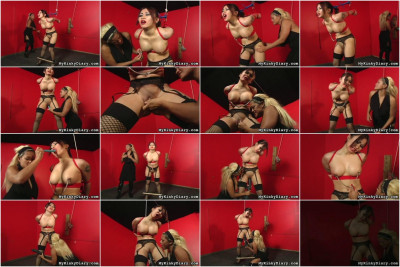 Mykinkydiary — Aug 30, 2011 - Busty Oriental Babe is Painfully Punished
