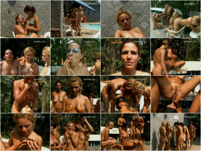 Shit lesbian party in the pool [SD 480p - 686.0 Mb]