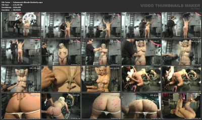 bdsm Submissive Blonde Kimberly