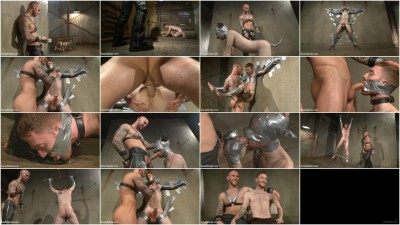 Slave #523 Endures Tape Dom's