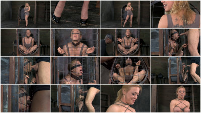 RTB - Darling blindfolded, caged and tagteamed by dick! - Apr 1, 2014 - HD