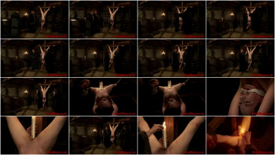 Witch Mathilda Endures Candle Wax Torment & Hot Mud Play Part 1 - BrutalDungeon