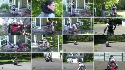 Houseofgord - Caroline Pierce -Mesh Catsuit Mobi-Fuck   HD 2015