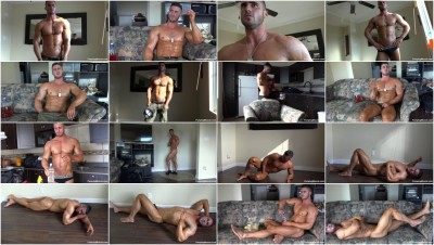 download watch pumping - (Pumpingmuscle Cameron G photoshoot Part 1)