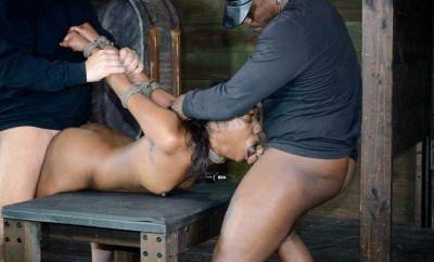 Beautiful 20 year old slave in bdsm