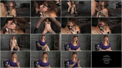 SexuallyBroken - Dec 19, 2014 - Redhead Jessica Ryan in strict bondage on sybian