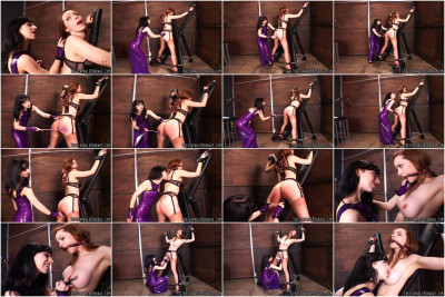 Inescapablebondage - Emily Marilyn and Mistress Mina Meows Play Date