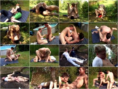 Bareback Sluts Get Slammed 3 UK Teens Outdoors (kiss, head, video, young)