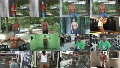 Pumping Muscle - Benjamin L Photoshoot Part 1