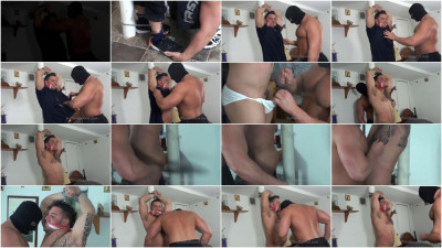 Gay BDSM BuffAndBound Ronnie J - Bound and Stripped