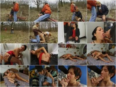 Erniedrigte deutsche Waldfotzen - Die Spermagierigen