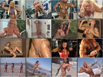 Muscular women (bodybuilders) Part3