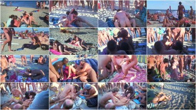 Cap d'Agde Sex in the Dunes 7