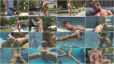 I Studs — Ripped Ryder is Back — Uncut — Muscle Surfer Works Out, Pees, Skinny-dips and S