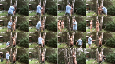Toaxxx - Outdoor Bondage for Bettine & Bustyteen 1