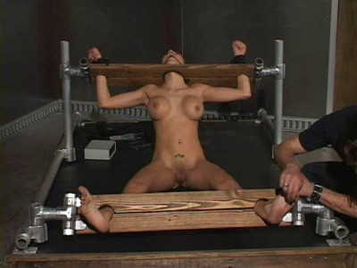 Sitting Stocks   Nailed, Shocked, Whipped & Fucked   Layla Rivera