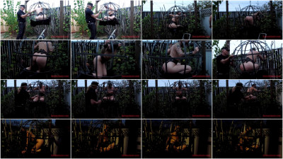 bdsm Sphere Cage Fuckery at Dusk Abigail Dupree