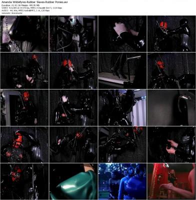 Amanda Wildefyres - Rubber Slaves: Rubber Ponies (2002) DVDRip