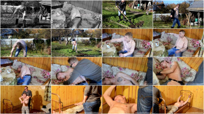 Gay BDSM Rinat Countryside worker Part I