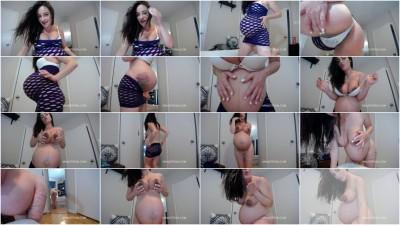 Mina Stefan 33 weeks