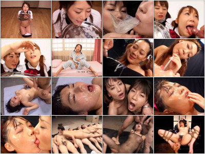 DDT-204 - Large Amount Cum Bukkake Swallowing
